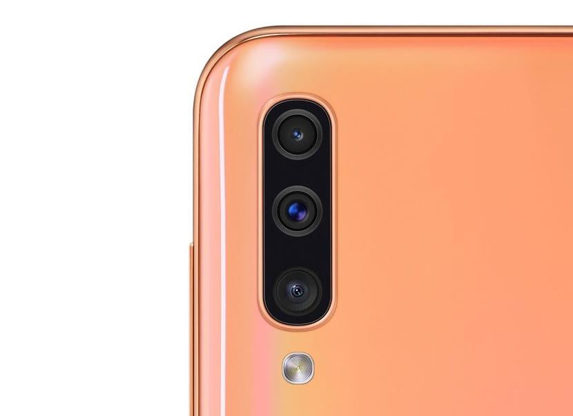 Galaxy A50 camara