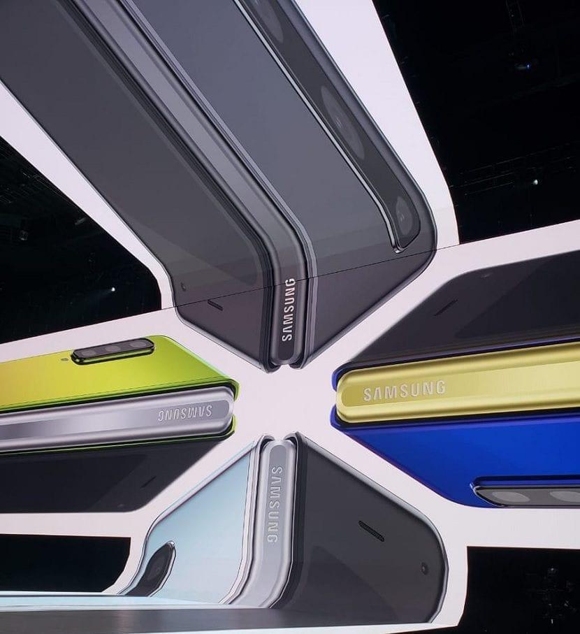 Galaxy Fold colores