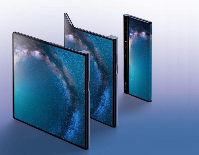 Teléfono plegable Huawei Mate X