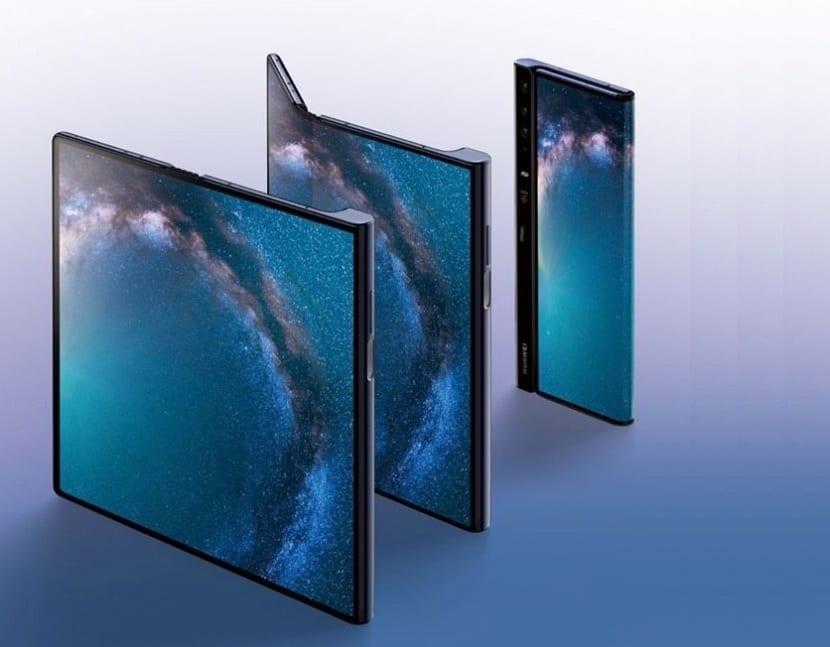 Teléfono plegable Huawei™ Mate X