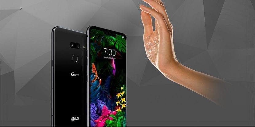 LG G8 ThinQ Mano