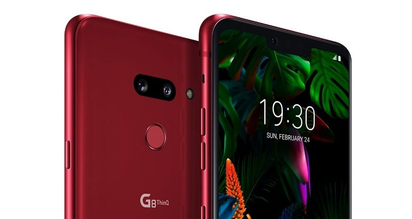 LG G8 ThinQ Rojo