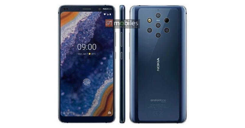 Nokia nueve PureView