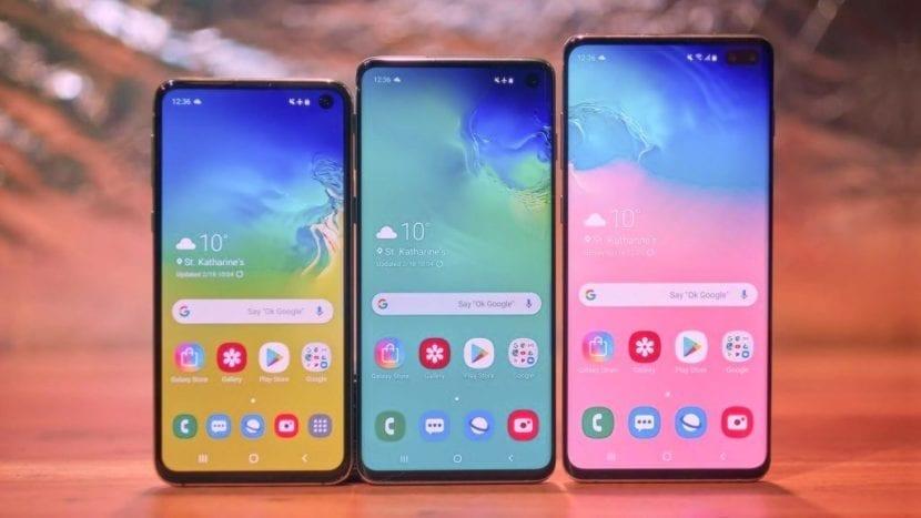 Versiones de los Samsung Galaxy S10