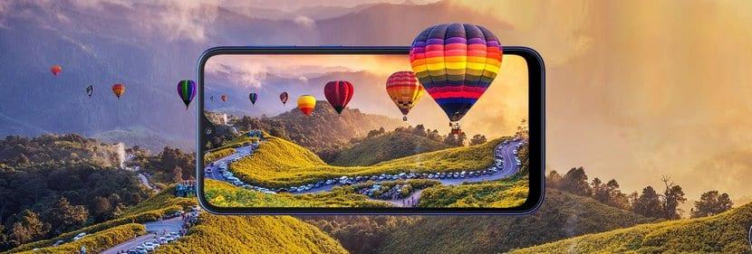 Diseño del Samsung Galaxy A10