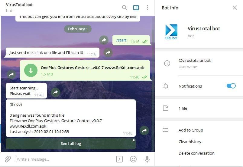 VirusTotalBot