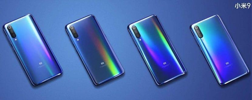 Xiaomi Mi 9 diseño