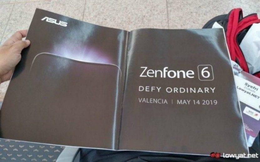 Anuncio de lanzamiento del Asus Zenfone 6