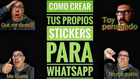 Crear Sticker WhatsApp