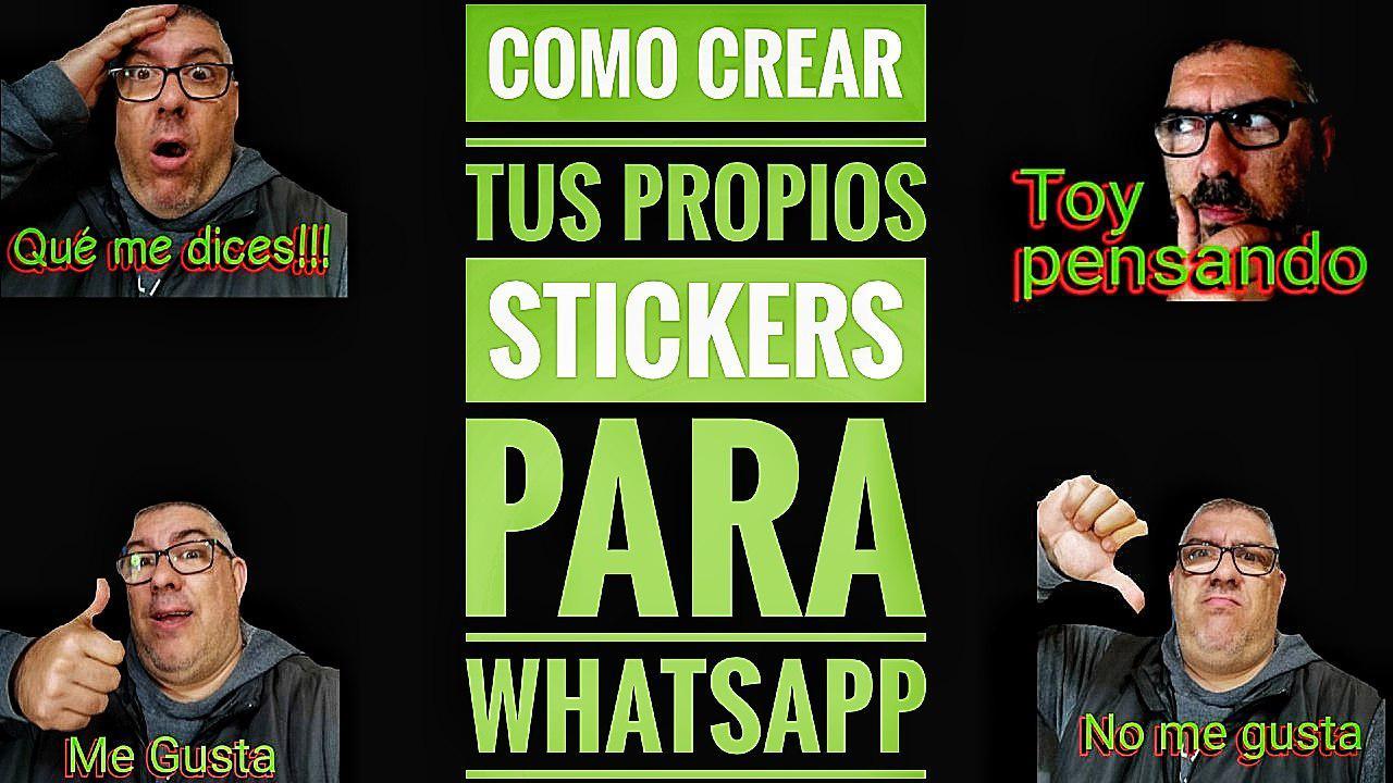 Crear Sticker WhatsApp
