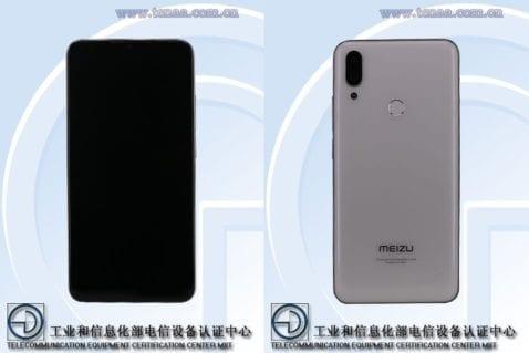 Meizu Note 9 en TENAA