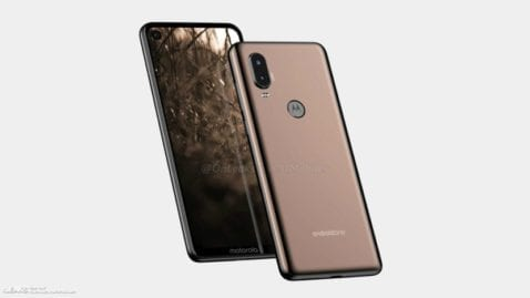 Motorola P40 render