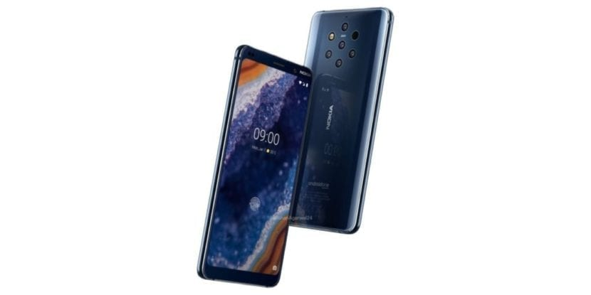 Imagen oficial del Nokia 9 Pureview