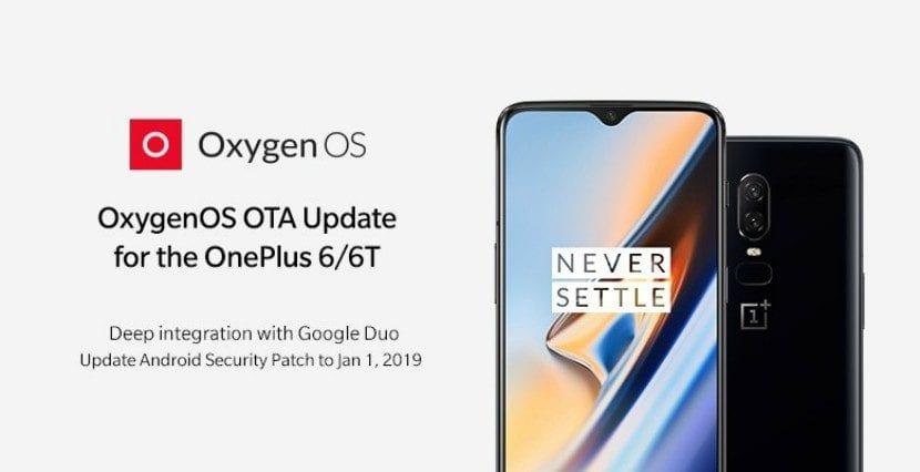 OnePlus 6 y 6T reciben una nueva actualización