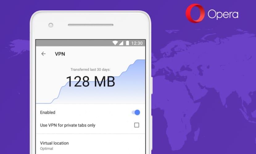 Opera VPN gratuito