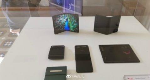 TCL muestra sus smartphones plegables en el MWC 2019