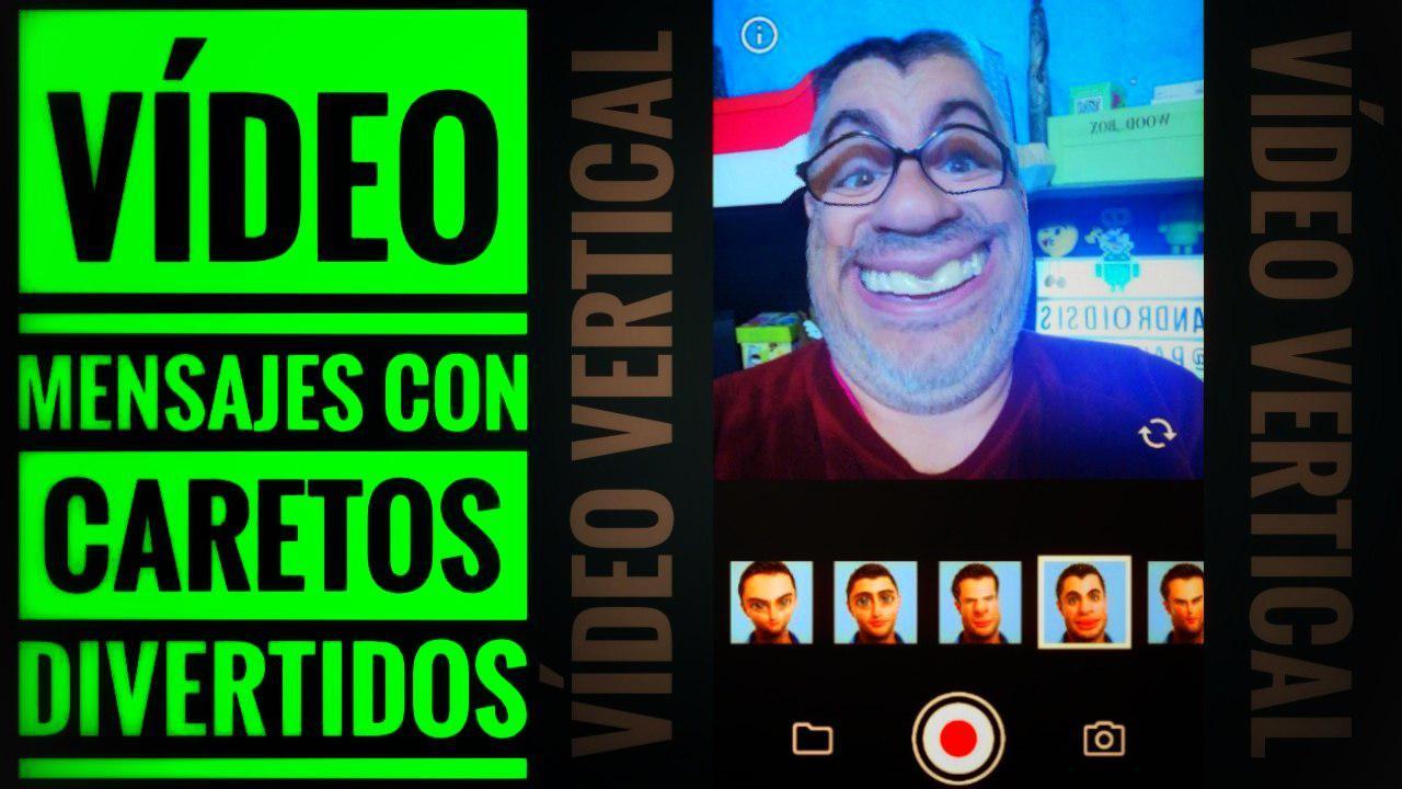 Crear vídeo-mensajes divertidos
