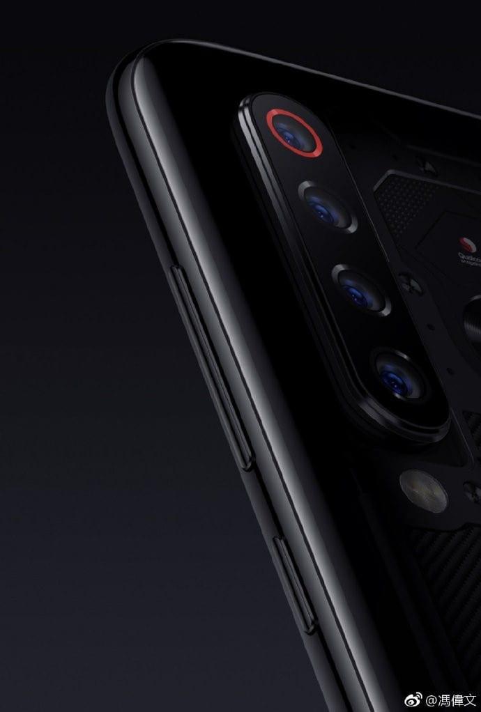 Render del Xiaomi Mi 9 Explorer edition