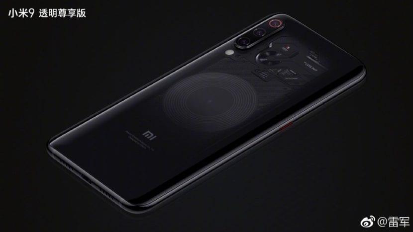 Xiaomi Mi 9(nueve) Transparent Edition