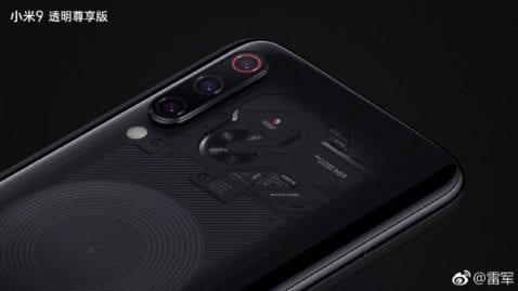 Xiaomi Mi 9(nueve) transparente