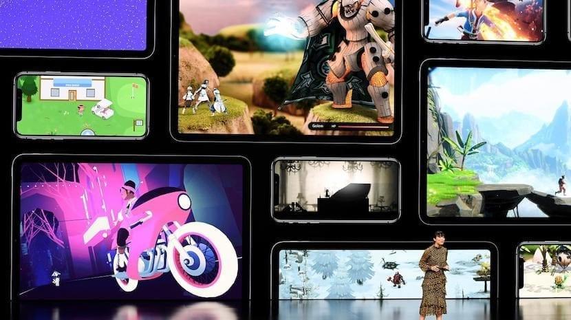 Apple Arcade juegos