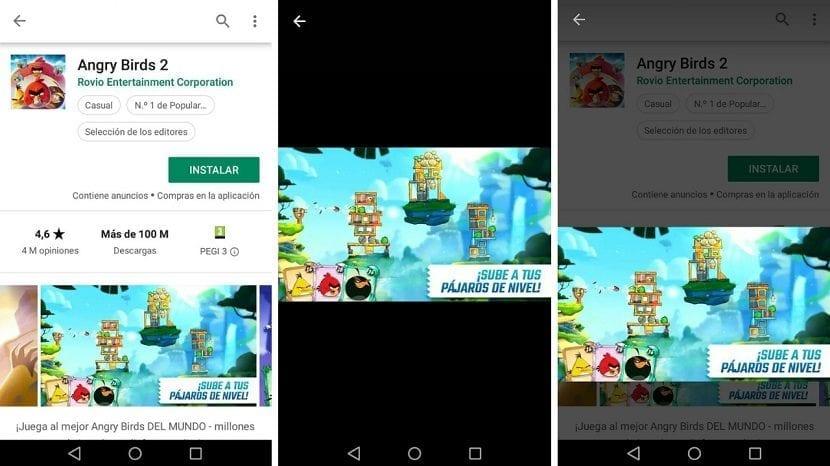 Google Play gestos