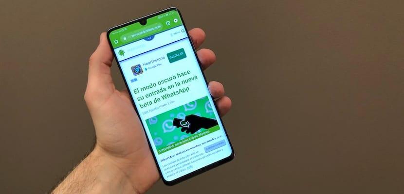 Comprobamos los supuestos problemas de scroll del Huawei P30