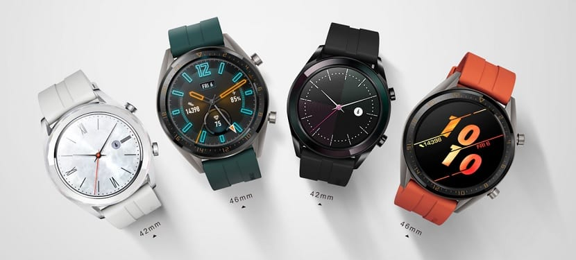 Huawei Watch GT Active y Watch GT Elegant