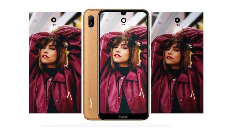 Huawei Y6 2019 Diseño