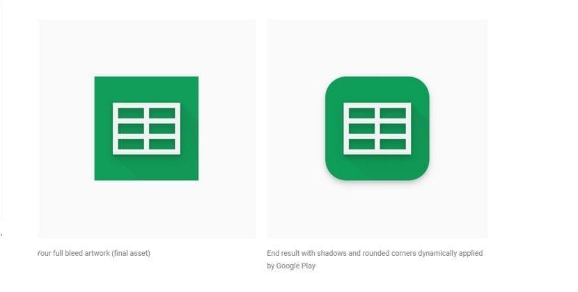 Nuevos iconos Google Play