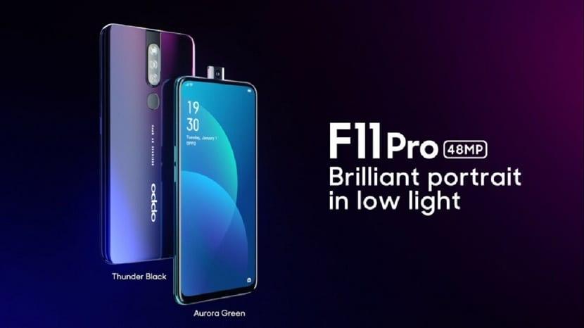 OPPO F11 Pro presentacion