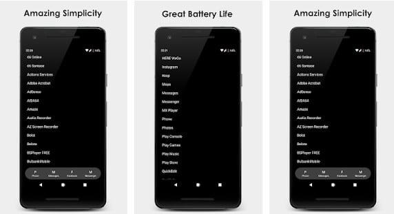 Black Launcher un Launcher de lo más sencillo y funcional