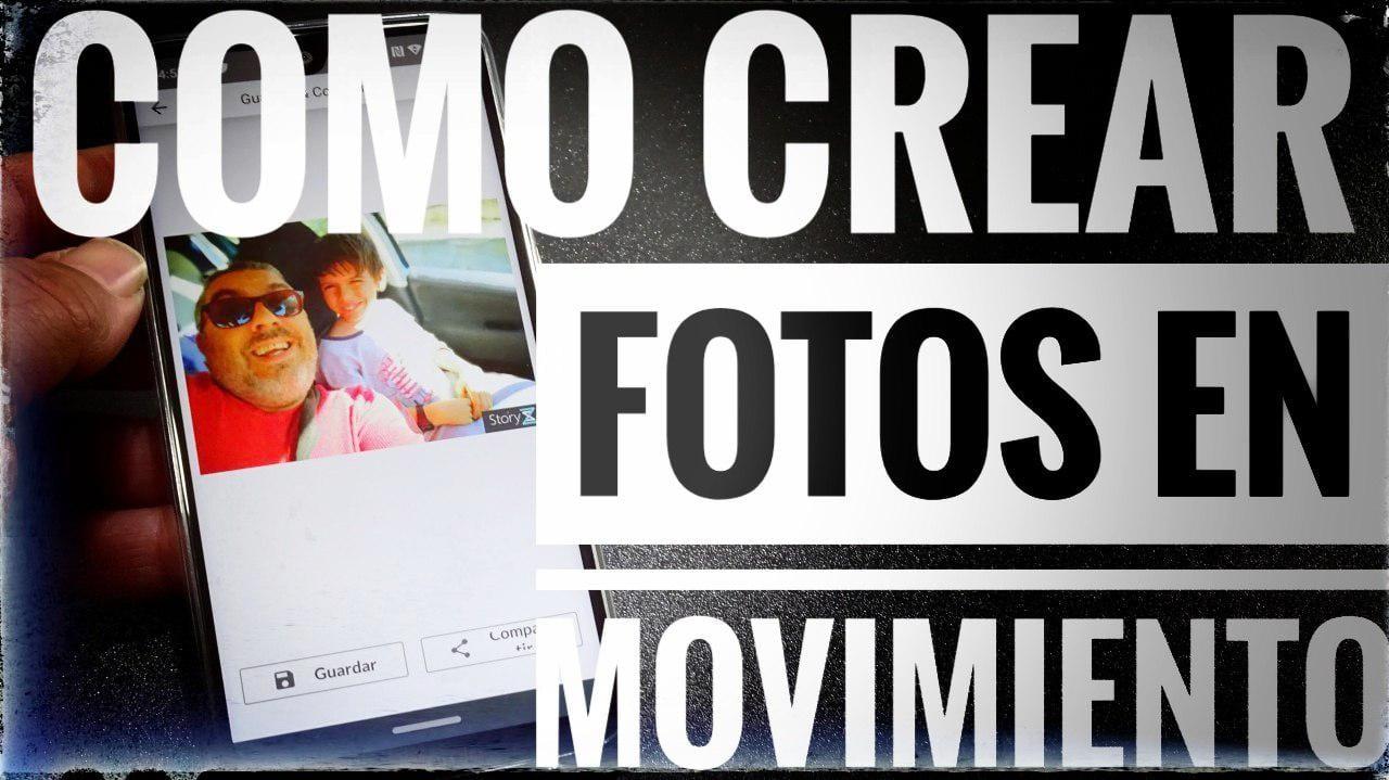 Cómo crear fotos con efecto de movimiento