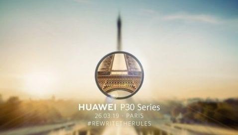Ver presentación Huawei P30 directo