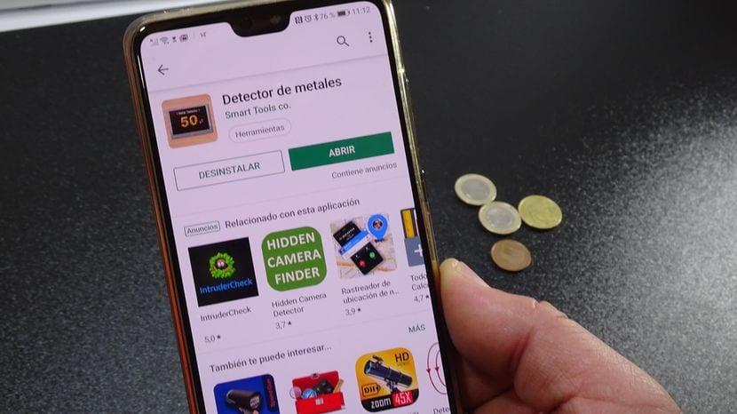 Cómo convertir tu Android en un detector de metales