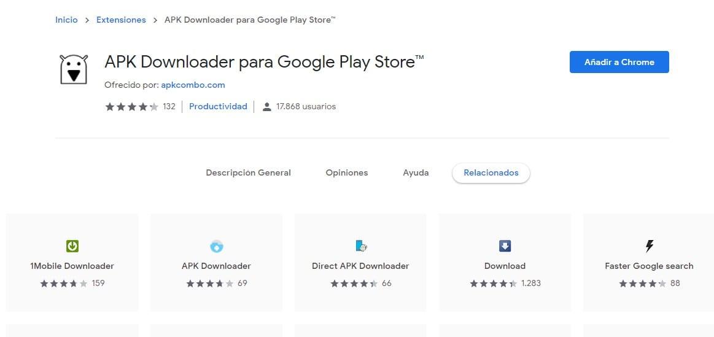 Descargar APKS desde el Play Store