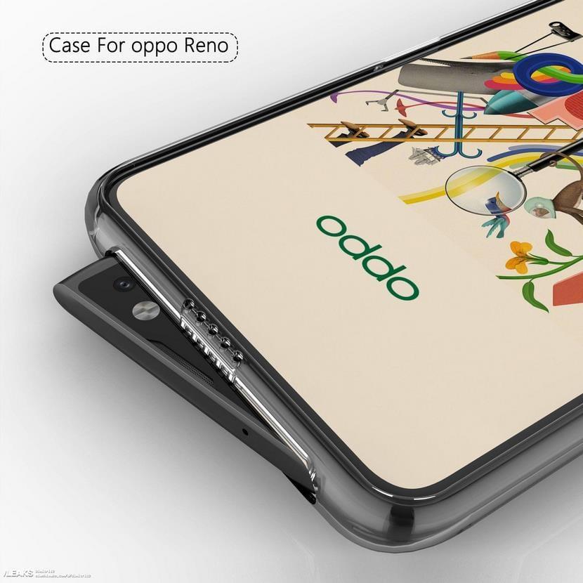 diseño del Oppo Reno
