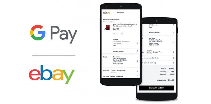 eBay - Google Pay