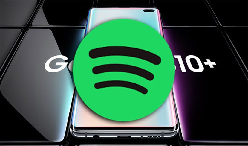 Galaxy S10 Spotify
