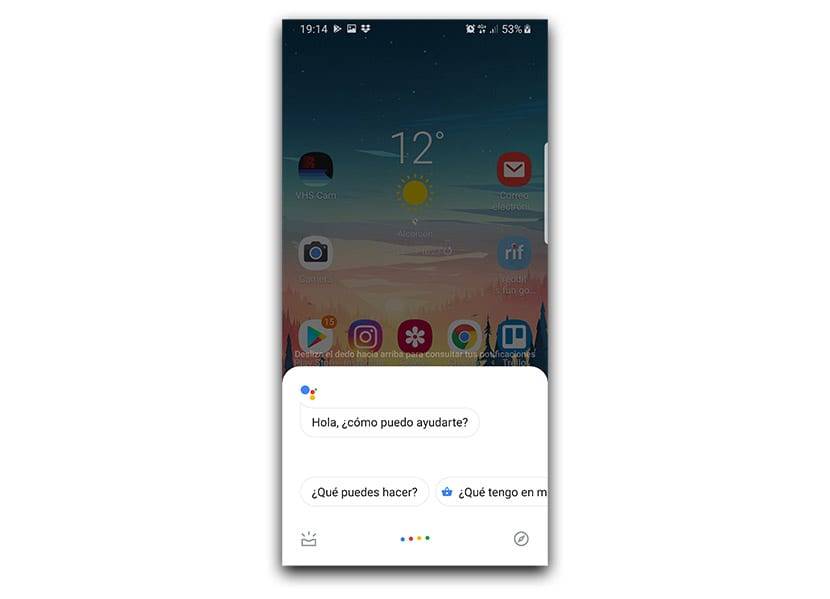 Google Asssistant Galaxy S9
