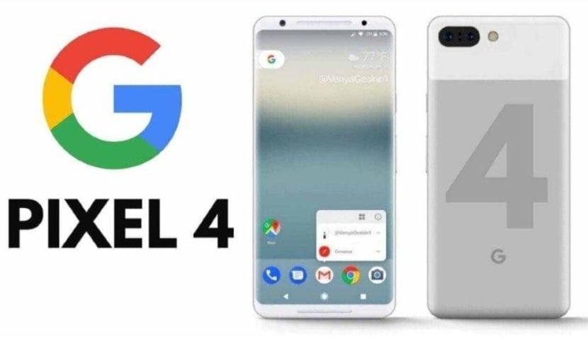 Google Pixel 4(cuatro) render