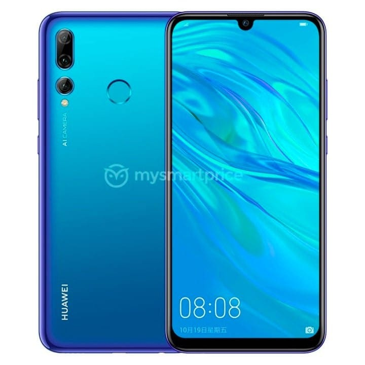 Huawei Enjoy 9S render