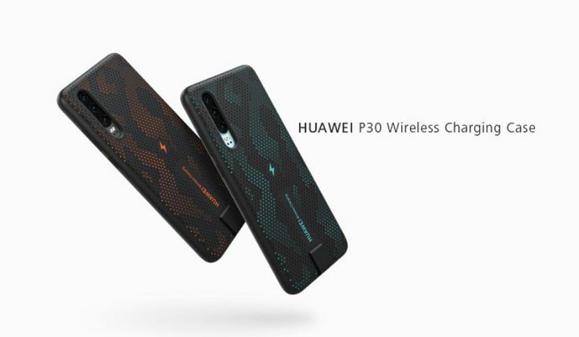 Huawei lanza un estuche de carga inalámbrica para el Huawei P30