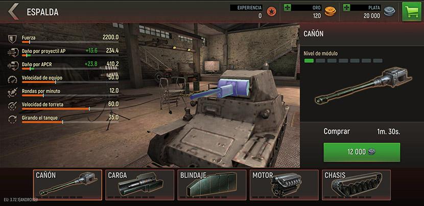 Mejoras en Battle Tanks