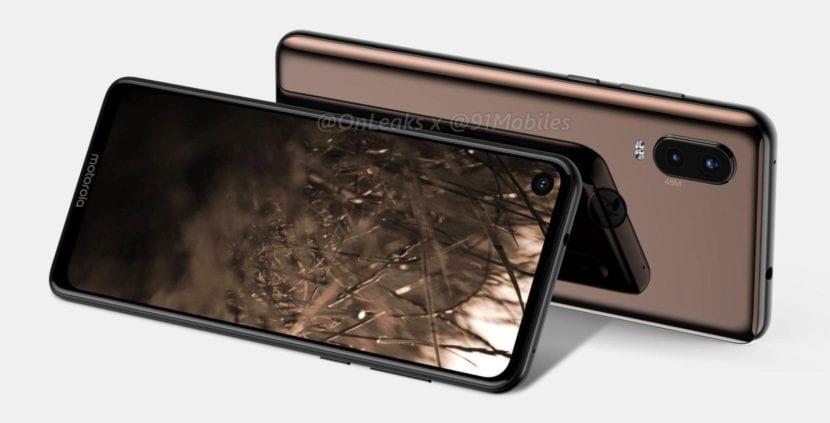 Motorola One Vision o P40 filtrado