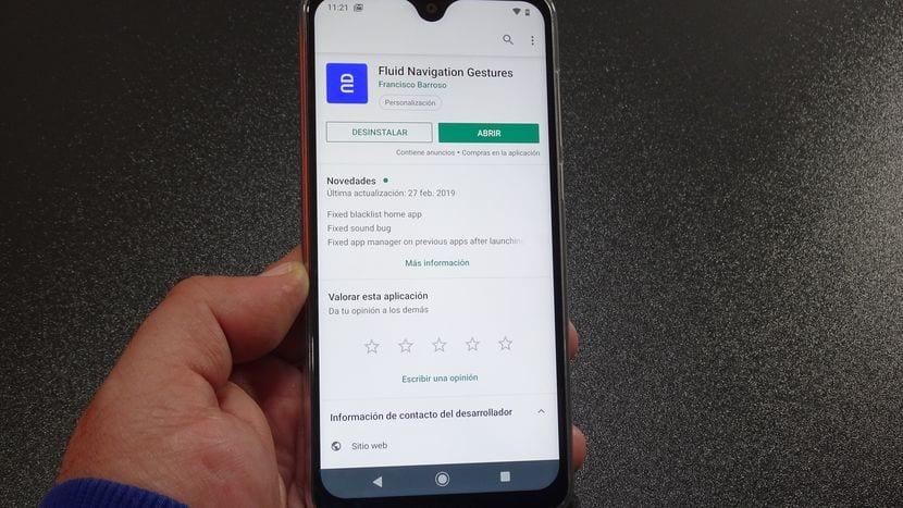 Cómo ocultar la barra Android y usar los gestos en pantalla en cualquier tipo de terminal Android