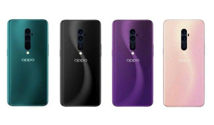 Oppo Reno 5G renders