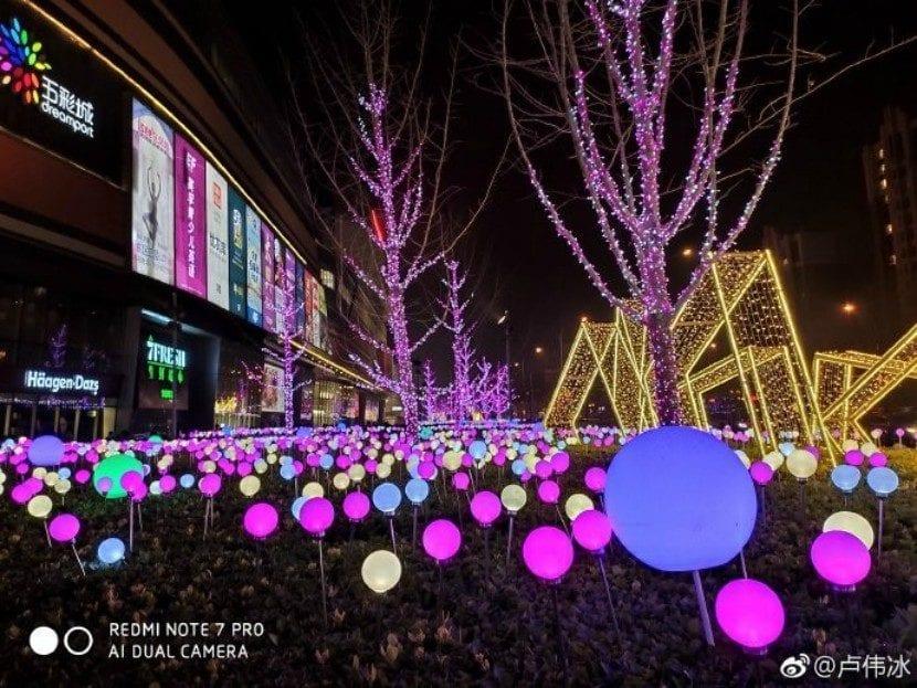 Modo nocturno del Redmi Note 7 Pro