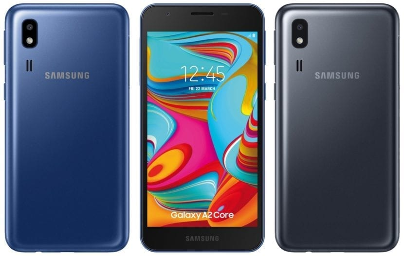 Samsung Galaxy A2 Core renders