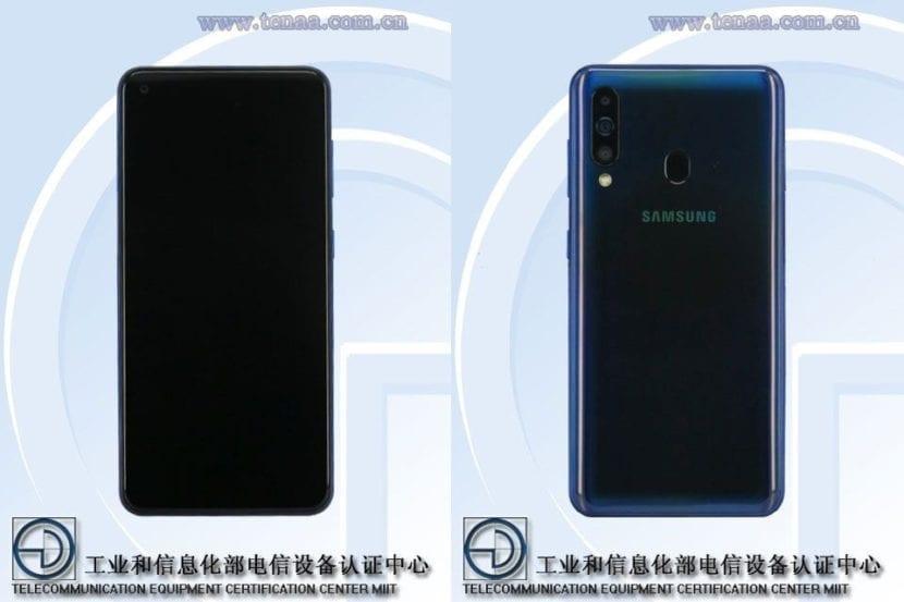 Samsung Galaxy A60 en TENAA